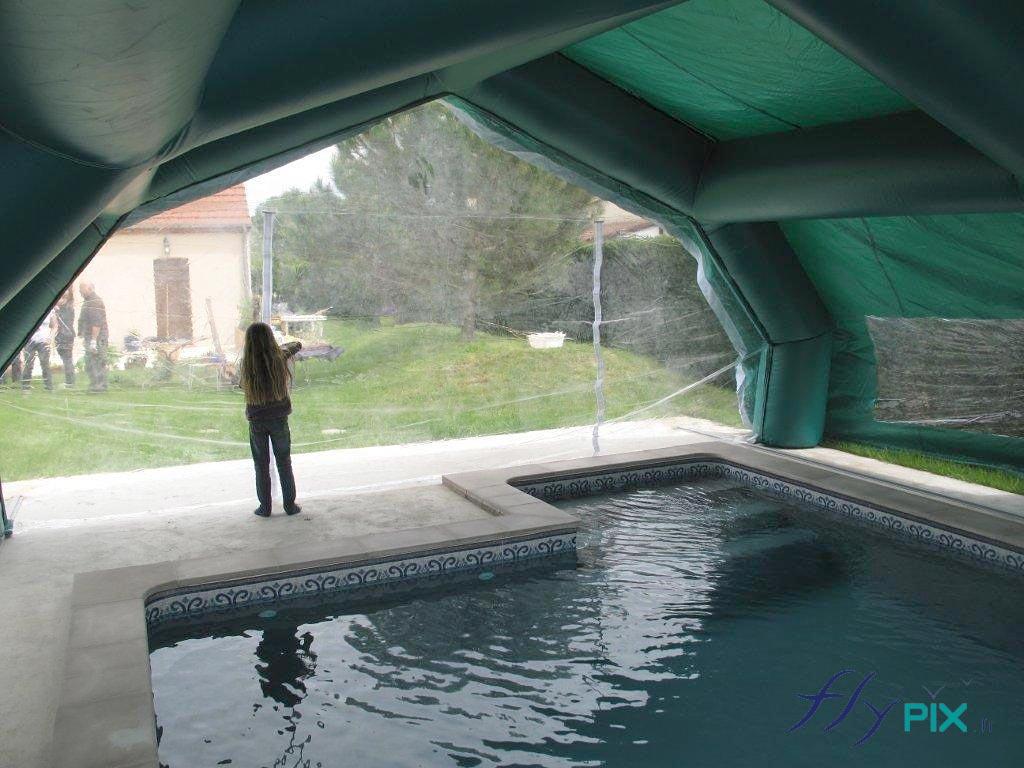 Les tentes gonflables de chantier présentent de nombreux bénéfices et un gain de temps considérable sur certains chantiers.