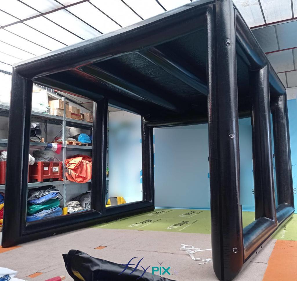 A LA VENTE / ANNONCE / OCCASION: Prototype (Tour de France) - NEUF - Abri 5 x 5 m H = 4 m / 2 900 euros HT